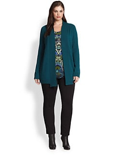 Fuzzi, Salon Z - Open-Front Wool Cardigan