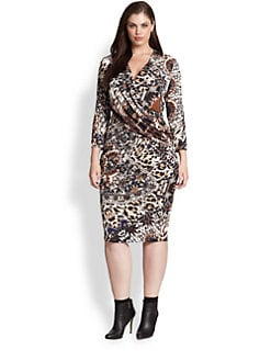 Fuzzi, Salon Z - Kaleidoscope Wrap Dress