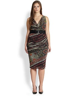Fuzzi, Salon Z - Bisanzio Belted Dress