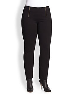 Fuzzi, Salon Z - Zip-Front Pants