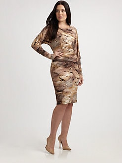 Stizzoli, Salon Z - Animal-Print Dress