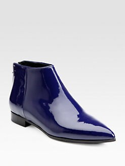 Miu Miu - Patent Leather Ankle Boots