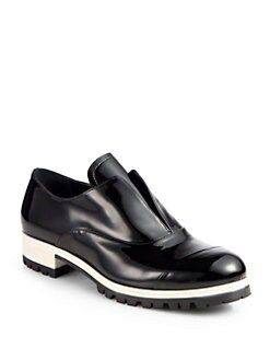 Miu Miu - Patent Leather Loafers