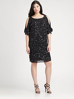 Aidan Mattox, Salon Z - Sequin Cocktail Dress