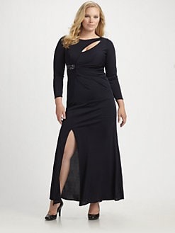 David Meister, Salon Z - Cutout Neck Dress