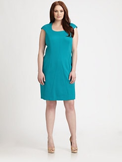 Kay Unger, Salon Z - Seamed Dress