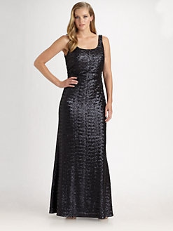Kay Unger, Salon Z - Sequin Gown