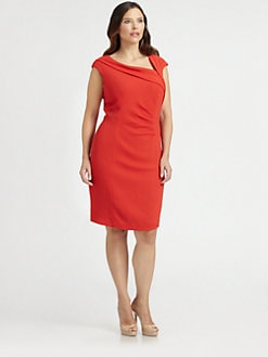 Kay Unger, Salon Z - Asymmetrical Dress