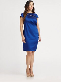 Kay Unger, Sizes 14-24 - Satin Dress
