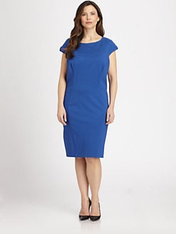 ABS, Salon Z - Gently Fitted Shift Dress