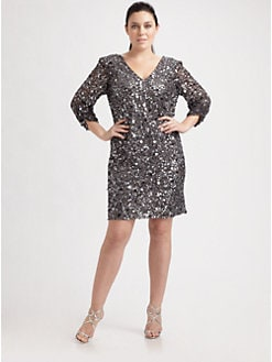 Aidan Mattox, Salon Z - Sequin Dress