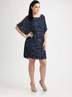 Aidan Mattox, Salon Z - Sparkle Shift Dress