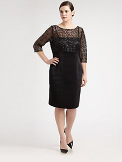Kay Unger, Salon Z - Lace/Sequin Dress