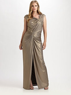 Tadashi Shoji, Salon Z - Metallic Gown