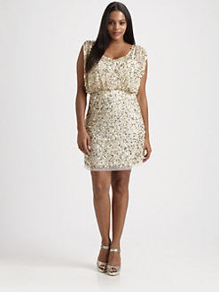 Aidan Mattox, Salon Z - Beaded Dress