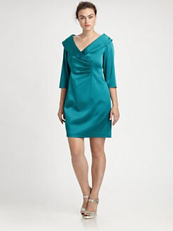 Kay Unger, Salon Z - Satin Dress
