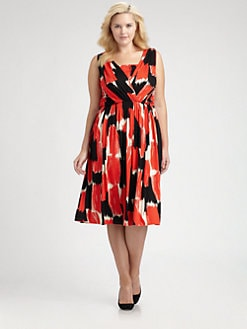Rachel Pally, Salon Z - Lucine Print Jersey Dress
