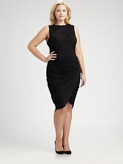 Rachel Pally, Salon Z - Kennedy Shirred Jersey Dress