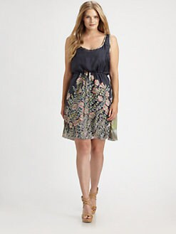 Johnny Was, Salon Z - Silk Slip Dress
