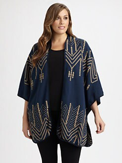 Johnny Was, Salon Z - Cheyenne Blanket Poncho