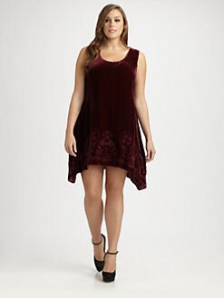 Johnny Was, Salon Z - Velvet Tank Dress