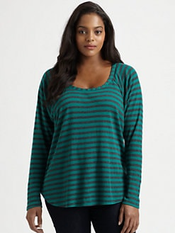 Splendid, Salon Z - Striped Raglan Top