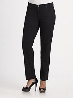 James Jeans, Salon Z - Stretch Denim Straight Leg Jeans