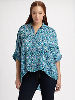 Tolani, Salon Z - Silk Kylie Blouse