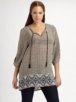 Tolani, Salon Z - Silk Sarah Tunic