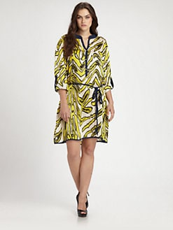 T-bags Los Angeles, Salon Z - Printed Tunic/Dress