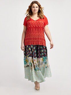 Shop Artsy Plus-Size Clothing @ Elegant Plus, Sizes 12-34W
