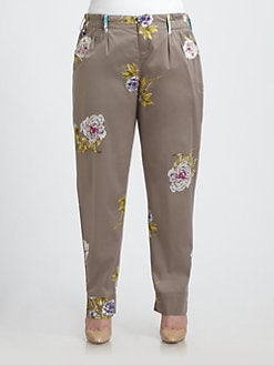 Johnny Was, Salon Z - Elsa Printed Pants