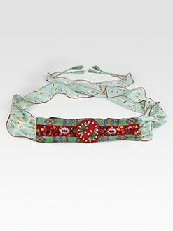 Johnny Was, Salon Z - Embroidered/Beaded Obi Belt