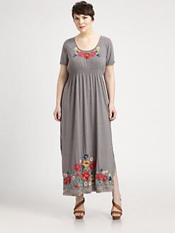 Johnny Was, Salon Z - Cotton Cassie Maxi Dress