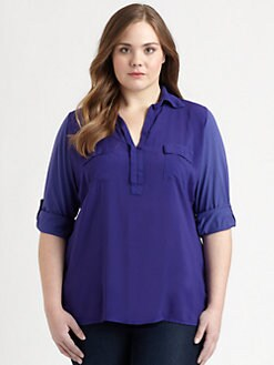 Splendid, Salon Z - Jersey Blouse