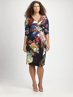 Anna Scholz, Salon Z - Digital-Print Dress