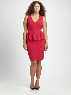 Anna Scholz, Salon Z - Sleeveless Peplum Dress