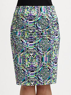Anna Scholz, Salon Z - Ruched Pencil Skirt