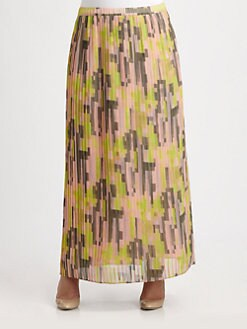 Anna Scholz, Salon Z - Pleated Long Skirt