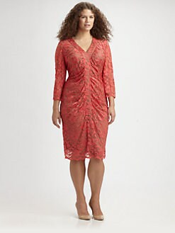 Anna Scholz, Salon Z - Lace Dress
