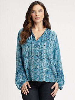 Tolani, Salon Z - Silk Paris Top