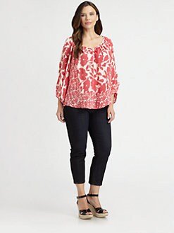 Tolani, Salon Z - Silk Adele Top