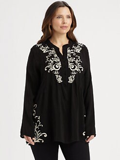 Johnny Was, Salon Z - Cotton Marion Tunic