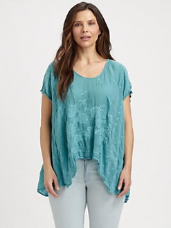Johnny Was, Salon Z - Handkerchief-Hem Tunic