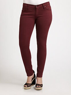 James Jeans, Salon Z - Five-Pocket Twill Leggings
