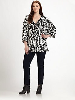 Rachel Pally, Salon Z - Printed Oluchi Top