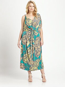 T-bags Los Angeles, Salon Z - Twist-Front Maxi Dress