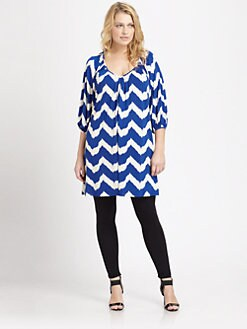 T-bags Los Angeles, Salon Z - Printed Tunic