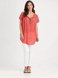 Johnny Was, Salon Z - Spring Blossom Blouse