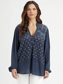 Johnny Was, Salon Z - Embroidered Yvani Tunic